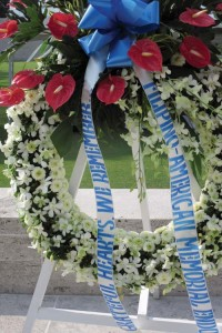 Wreath of the Filipino-American Memorial Endowment
