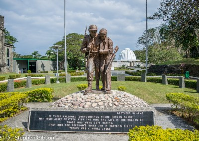 Pacific War Museum Brothers In Arms Memorial