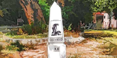 Death March Marker Drawing