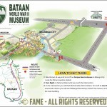 Bataan WWII Museum Location Map