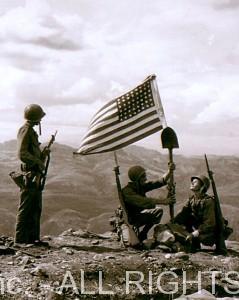 Flagraising_bambanhills_1945