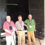 Death March Survivors & Their Boxcar