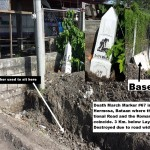 Road Work Destroys Death March Markers